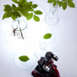 Laboratory background - Foto Stock
