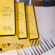 Stack of gold bar — Stock Photo #11296522