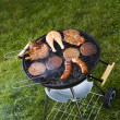 Grilling time, Grill — Stock Photo