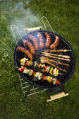 Grill background — Stock fotografie