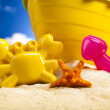 Stock Photo: Toys for beach