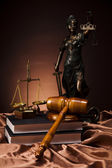 Statue of lady justice — Stock Photo