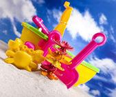 Plaża zabawek — Zdjęcie stockowe
