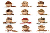 Traditional Chinese Medicine with Titles — Stock Photo
