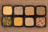 Cereal and Grain Selection — Stock Photo