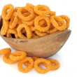 Onion Ring Crisps - Stock Photo