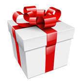 Gift box — Stockvector
