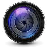 Obiettivo della fotocamera — Vettoriale Stock