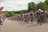 Mens Cyclimg Race — Stock Photo