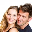 Happy smiling couple — Stock Photo #10971068