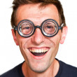Royalty-Free Stock Photo: Funny nerd