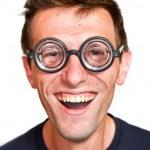 Funny nerd — Stock Photo #10971127