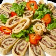 Focaccia roll — Stock Photo