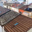Red tiled roofs — Stock Photo