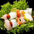 Fish skewers — Stock Photo #11963114