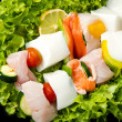 Fish skewers — Stock Photo #11963155