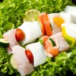 Fish skewers — Stock Photo #11963180