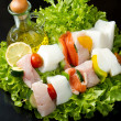 Fish skewers — Stock Photo #11963197