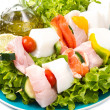 Fish skewers — Stock Photo #11963230