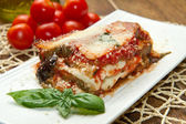 Parmigiana aubergine — Stockfoto
