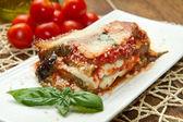 Parmigiana eggplant — Stock Photo