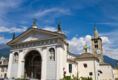 Cathedral of Aosta — Stock Photo
