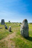 Prehistoric burial ground, Sweden. — Stock Photo