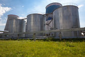 Stookolie energie station — Stockfoto