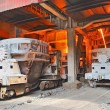Steel buckets to transport molten metal — ストック写真 #11014656