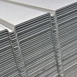 Wave corrugated steel sheet - Stock Photo