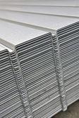 Wave corrugated steel sheet — Stock Photo