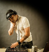DJ at work — Stock Photo