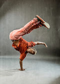 Dancer - Power Freeze — Stock Photo