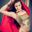 Arabian dancer — Stock Photo