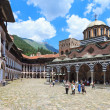 Rila Monastery Courtyard — Stock Photo #11614669