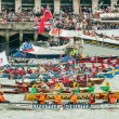 Diamond Jubilee Rowers — Stock Photo #10980723