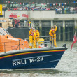 RNLI Lifeboat crew — Stock Photo