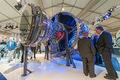 Rolls-Royce jet engine — Stock Photo