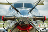 Propeller aircraft — Foto Stock