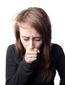 病気の女性 — ストック写真