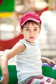 Portret chłopca, 3-4 lat — Zdjęcie stockowe