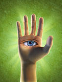 Third eye — Stock Photo