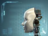 Tecnologia android — Foto Stock