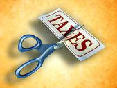Tax cut — Stock Photo