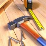 Woodwork tools — Stock Photo #11613367