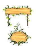 Segni di legno — Foto Stock