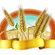 Wheat label — Stock Photo #11835877