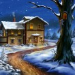 Christmas landscape — Stock Photo #11835881