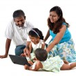 Indian family — Stock Photo #11585565