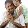 Asian father and daughter — Stock Photo #11585577